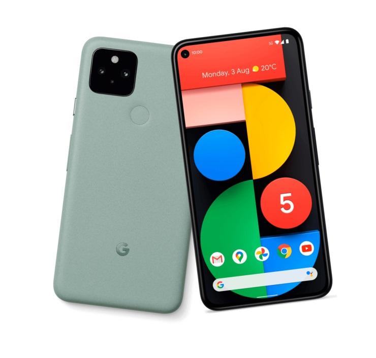 谷歌Pixel5新配色曝光,薄荷綠你愛了嗎?
