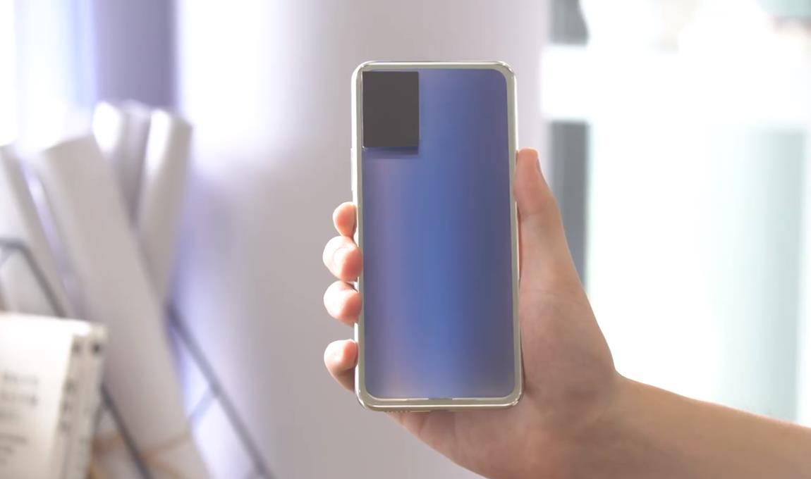 vivo手机背盖电致变色技术来袭,花里胡哨太喜欢了!