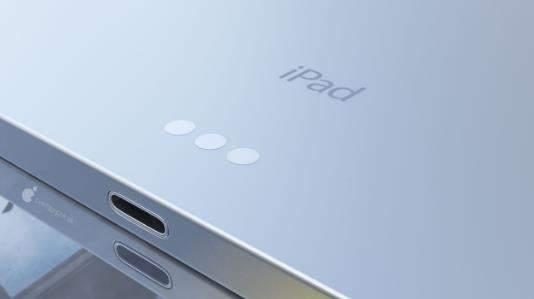 苹果iPadAir4外观最新曝光:屏幕边框更窄,电源键较为宽大