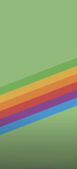 苹果彩虹壁纸原图-iPhone手机自带彩虹壁纸下载