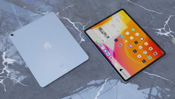 iPad Air 4全方位渲染图曝光,边框更窄颜值超高