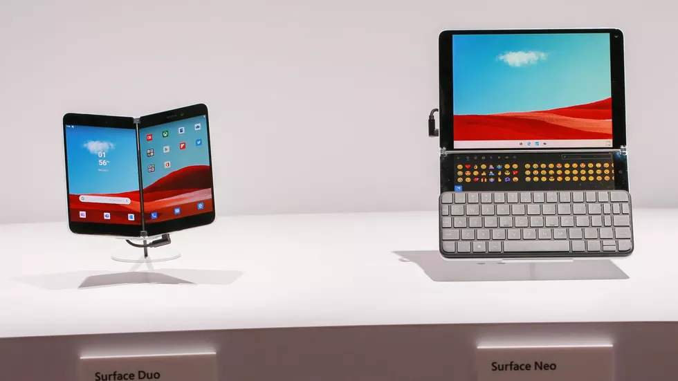 Surface Duo推出多颜色手机套,售价约274 元