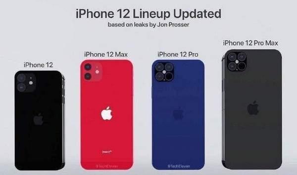 iPhone12最新消息确认,A14处理器+120Hz+方形三摄
