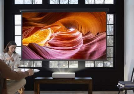 三星Premiere官宣:超短焦4K激光投影仪,可投130英寸大屏幕