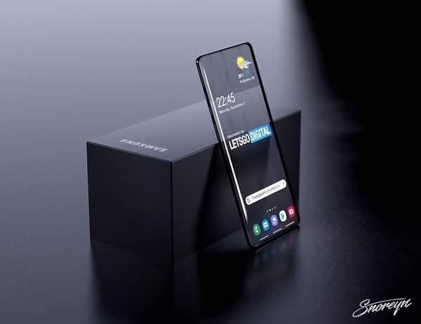 三星新款智能机曝光,采用透明显示屏