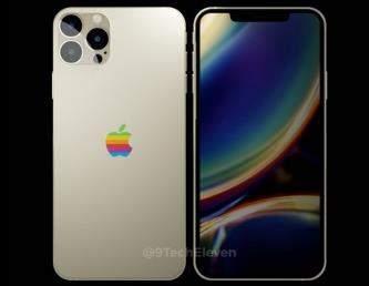iPhone12系列手机外观确认,背部Logo太抢眼!