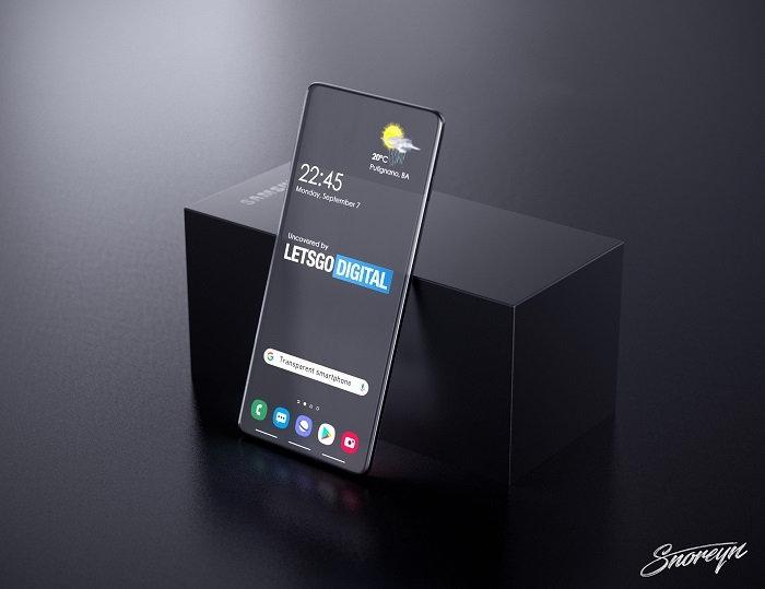 三星透明手机外观渲染图曝光:太震撼了!