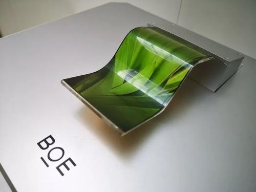 京东方柔性OLED面板上半年出货量接近去年全年