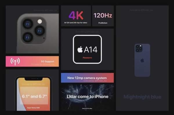 传iPhone12最高配置机型新增ToF相机,还将配备传感器防抖