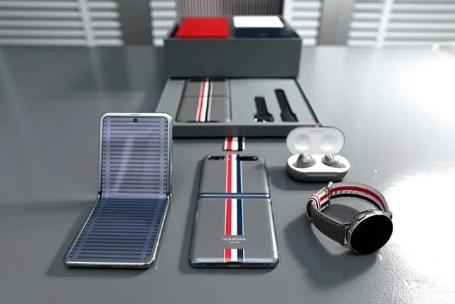 三星ZFold2 ThomBrowne限定版套裝發布,售價27199元