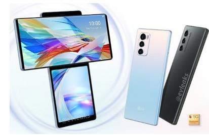 LG Wing手机外观高清图曝光:采用双屏旋转设计