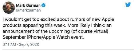 iPhone12发布日期9月16日?iPhone12或将推迟至10月发布