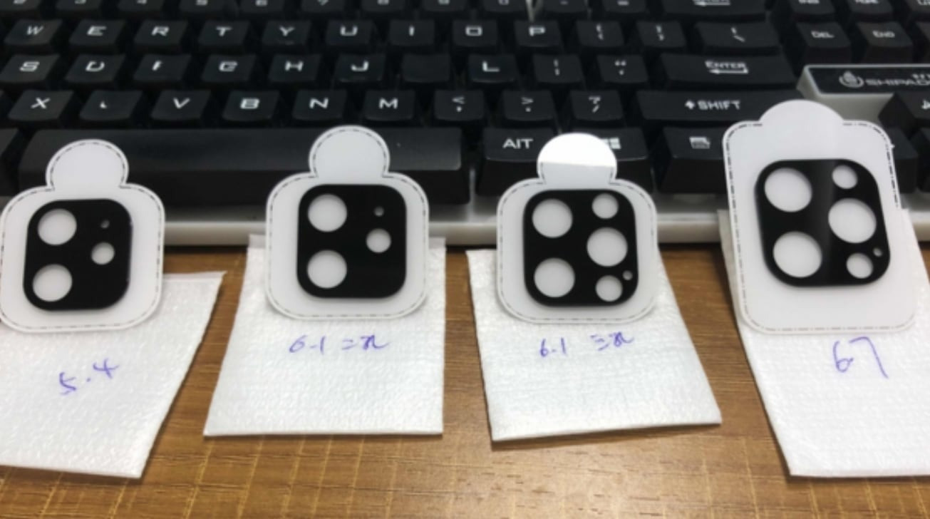 iPhone12镜头保护膜曝光,LiDAR传感器被实锤