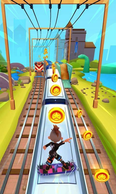 地铁跑酷2012老版