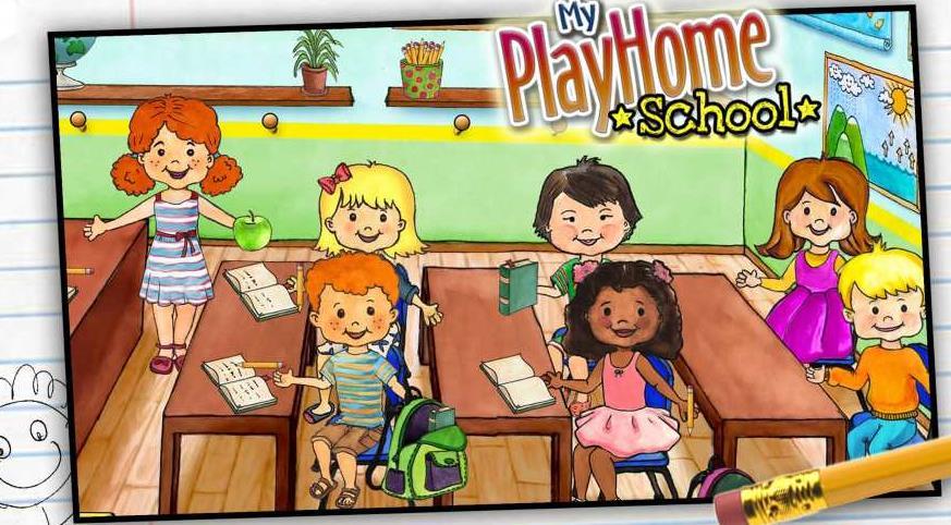 娃娃屋校园最新版图2