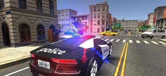 警车模拟驾驶游戏破解版图1