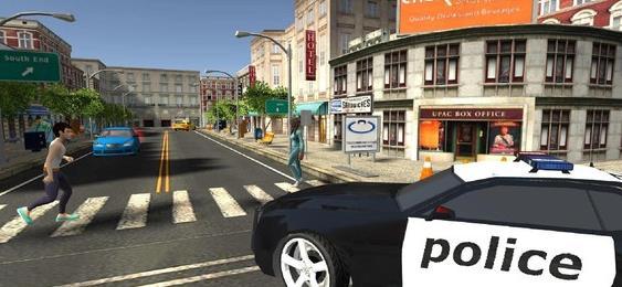 警车模拟驾驶游戏破解版图3