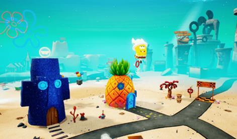 海绵宝宝比奇堡的冒险手机版图1